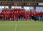 Latvijas U-18 izlase Baltijas komandu čempionātā par diviem punktiem piekāpjas Igaunijai