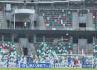 """""""Isloch"""" intereses dēļ pārnes maču uz lielāku stadionu, bet uzstāda antirekordu"""
