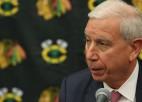 """""""Blackhawks"""" atlaiž prezidentu, kurš palīdzēja komandai izcīnīt trīs Stenlija kausus"""