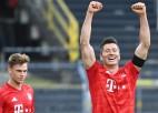 """""""Bayern"""" ceļu pretī astotajam titulam pēc kārtas turpinās mājās pret Diseldorfu"""