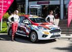 Seska/Franča ekipāža WRC posmos startēs ar jauna dizaina auto
