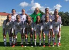 Latvijas U-15 meiteņu izlase Baltijas kausu sāk ar pārliecinošu uzvaru pār Lietuvu