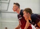 Volejbolisti ar pārliecinošu uzvaru ievada EČ kvalifikācijas turnīru
