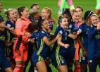 """""""Lyon"""" dāmu komanda piekto reizi pēc kārtas triumfē Čempionu līgā"""