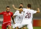 Latvijai pirmie vārti turnīrā, taču prieku maz – neizšķirts arī pret Maltu