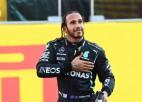 """Hamiltons: """"Šī bija viena no smagākajām dienām, ko esmu piedzīvojis"""""""