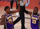 """Džeimss ar 38+16+10 nodrošina savu desmito un """"Lakers"""" 32. dalību NBA finālos"""