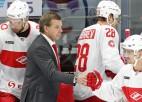 """Znaroka un Vītoliņa """"Spartak"""" viesos sarūgtina KHL rietumu vicelīderi SKA"""