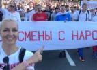 Baltkrievijas zvaigznei Ļevčankai piespriež 15 dienas aiz restēm, aicina sportistus boikotēt sacensības