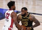 """NBA titulcīņas otrais cēliens: vai """"Heat"""" panāks arī septīto spēli?"""