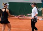 """Ostapenko neizdodas sasniegt """"French Open"""" dubultspēļu ceturtdaļfinālu"""