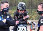 """""""Yamaha Motor Europe"""" neturpinās sadarbību ar motokrosa braucēju Pumpuru"""