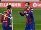 """Mesi nāk uz maiņu un nokārto uzvaru, """"Barca"""" pārtrauc melno sēriju"""
