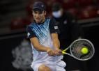 Čiličs Sofijā 66 minūtēs kapitulē ranga 399. vietā esošam ATP turnīru debitantam