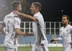 Latvijas futbola izlase jūnijā pārbaudes mačā tiksies ar pasaules grandu