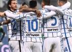 ''Inter'' svarīga panākums pār ''Sassuolo'', ''Juventus'' nespēj uzvarēt ''Benevento''