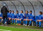 Priekšlaicīgi pārtrauc Sieviešu futbola līgu
