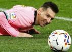"""""""Barcelona"""" labs uzbrukuma futbols, Mesi piedalās visos vārtu guvumos"""