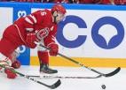 Daugaviņš iemet un raksta latviešu vēsturi KHL