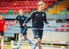 Duelis pret galvenajiem pretiniekiem - Latvijas telpu futbolisti uzņems slovēņus
