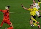 "Holannam 2+1, Dortmundes ""Borussia"" satriec ""Sevilla"" <i>sauso</i>  sēriju"