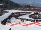 Latvijas izlase distanču slēpošanas čempionātā ar Eiduku un Bendiku sastāvā