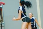 Foto: Valmieras volejbola čempionāta regulārajā turnīrā sākusies izšķirošā fāze