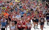 Foto: Valmieras maratonā uzvar Fadejevs un Kažemāka