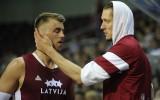 Foto: Latvijai vēl viena uzvara, šoreiz pieveikta Jaunzēlande