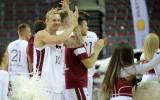 Foto: Uz Olimpisko kvalifikāciju Latvija dodas, pieveicot arī Irānu