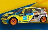 Foto: GCK rallijkrosa komandas automašīnām krāsaini un interesanti dizaini