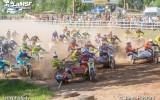 Foto: Blakusvāģu un kvadru motokross Gulbenē