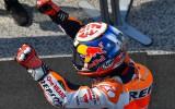 Foto: MotoGP rekordsacīkstēs pirmo uzvaru sezonā izcīna Pedrosa