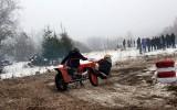 Foto: Blakusvāģu motokross ziemā