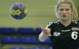 Video: Latvijas sieviešu handbola čempionātā vispirms nogulda vārtsardzi