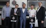 """Pahars par vizīti """"Partizan"""", """"Southampton"""", Indiju, Latvijas jaunatnes nākotni"""