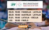 Sportacentrs.com TV: Latvijas florbolisti cīņā par ceļazīmi uz pasaules čempionātu