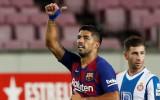 """""""Barcelona"""" divu noraidījumu spēlē aizsūta """"Espanyol"""" uz pirmo līgu"""