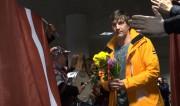 Video: Hokejistu emocijas, atgriežoties mājās no Sočiem