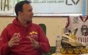 Video: Oļegs Sorokins par Inline hokeja āķi lūpā, sporta veida niansēm