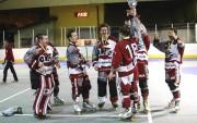 Pirmo reizi par augstākās līgas inline hokeja čempioniem kļūst IHK Olaine