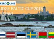 Latvijas bridžisti nedēļas nogalē piedalīsies Baltijas kausa izcīņā