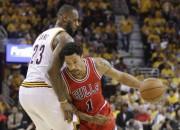 """""""Bulls"""" sērijas ievadā apspēlē """"Cavs"""", """"Clippers"""" Hjūstonā uzvar bez Pola"""