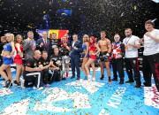 Ar divām Latvijas cīkstoņu uzvarām noslēdzies KOK cīņu turnīrs Rīgā