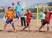 Nedēļas nogalē startēs Latvijas atklātais čempionāts pludmales handbolā