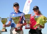 Eihmanis un Švanka uzvar Latvijas golfa čempionātā amatieriem