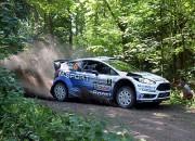 Tanakam Polijā otrais pjedestāls WRC, uzvar Ožjē