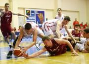 Koham pieci tālmetieni un 27 punkti, Latvija nenoķer Vāciju