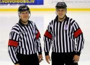 Odiņš un Ansons tiesās Čempionu hokeja līgas spēles