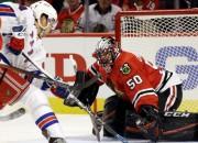 """""""Rangers"""" sāk ar uzvaru Čikāgā, Monreāla sabojā Bebkoka debiju"""